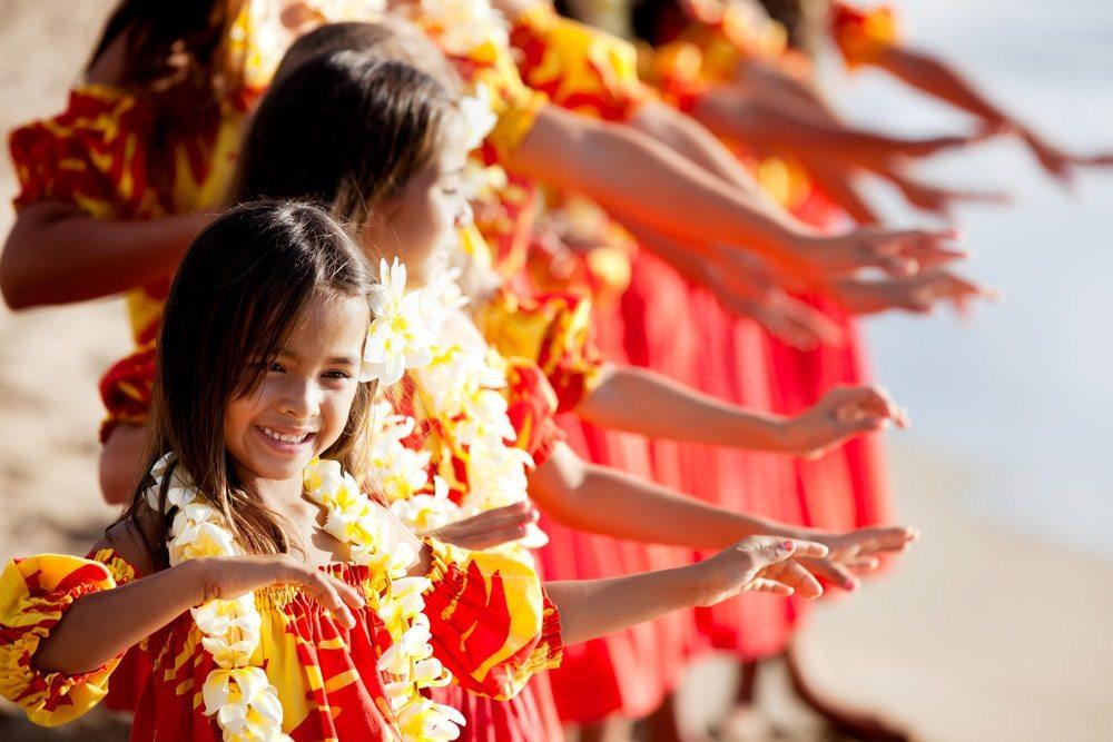 hula hawaii tanc