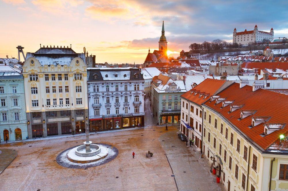 Szlovákia, Pozsony