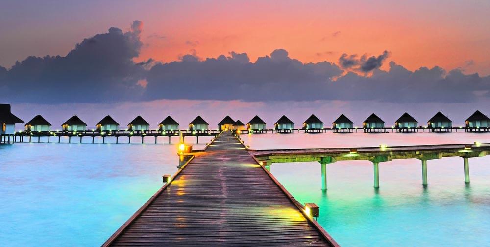 földi paradicsom Maldív-szigetek