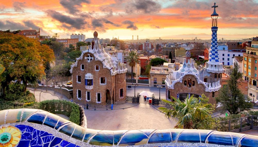barcelona-naplemente