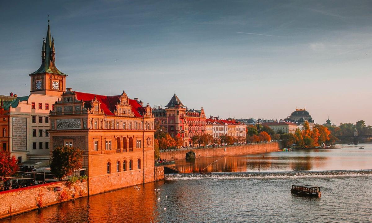 Csehországban