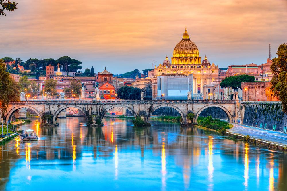 Rómába utazás