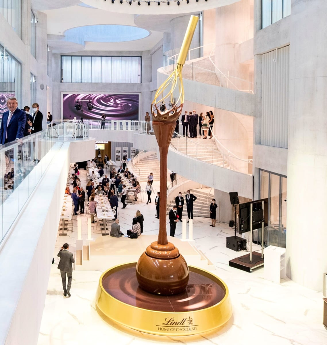 csokoládémúzeum Zürich
