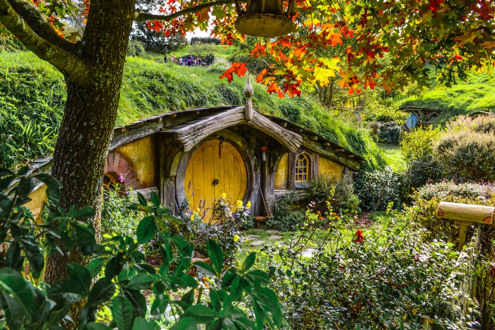 Hobbitfalva érdekesség