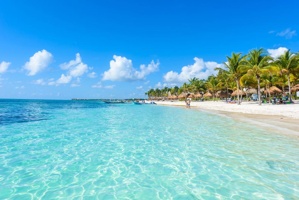 Mexikó strandjai nyáron