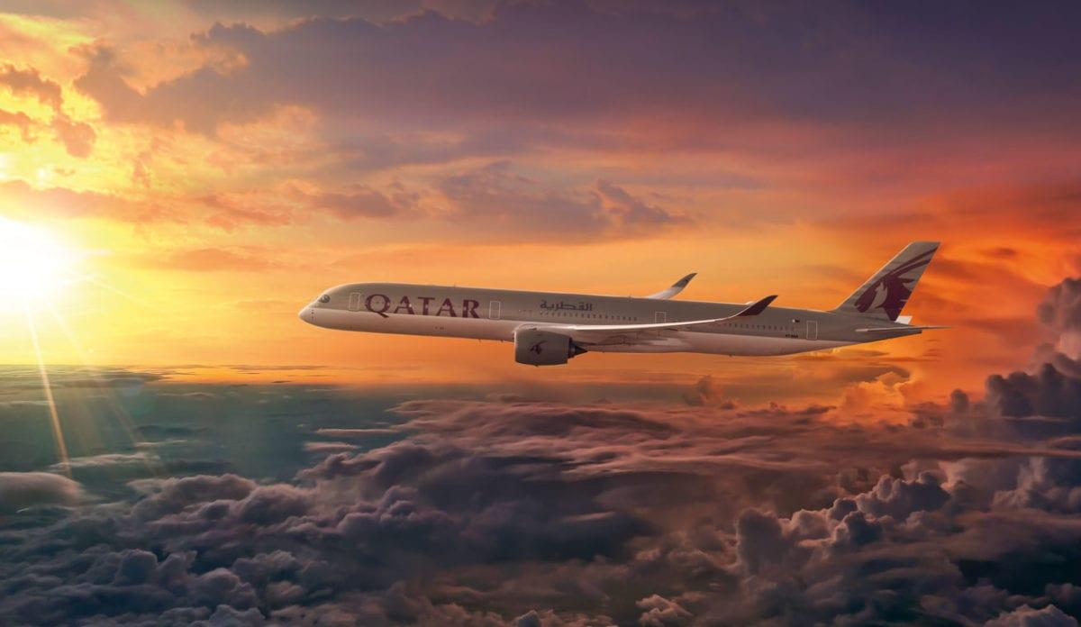 Qatar Airways gép
