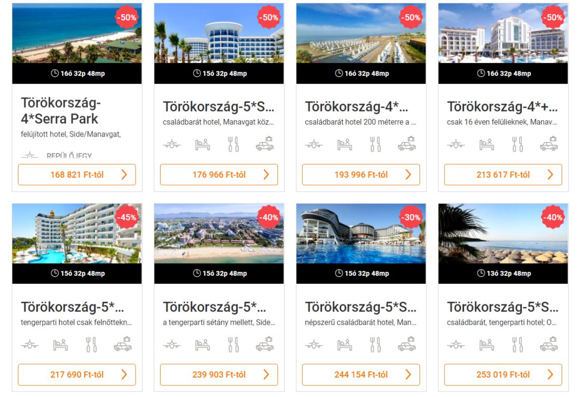 Törökország utazás