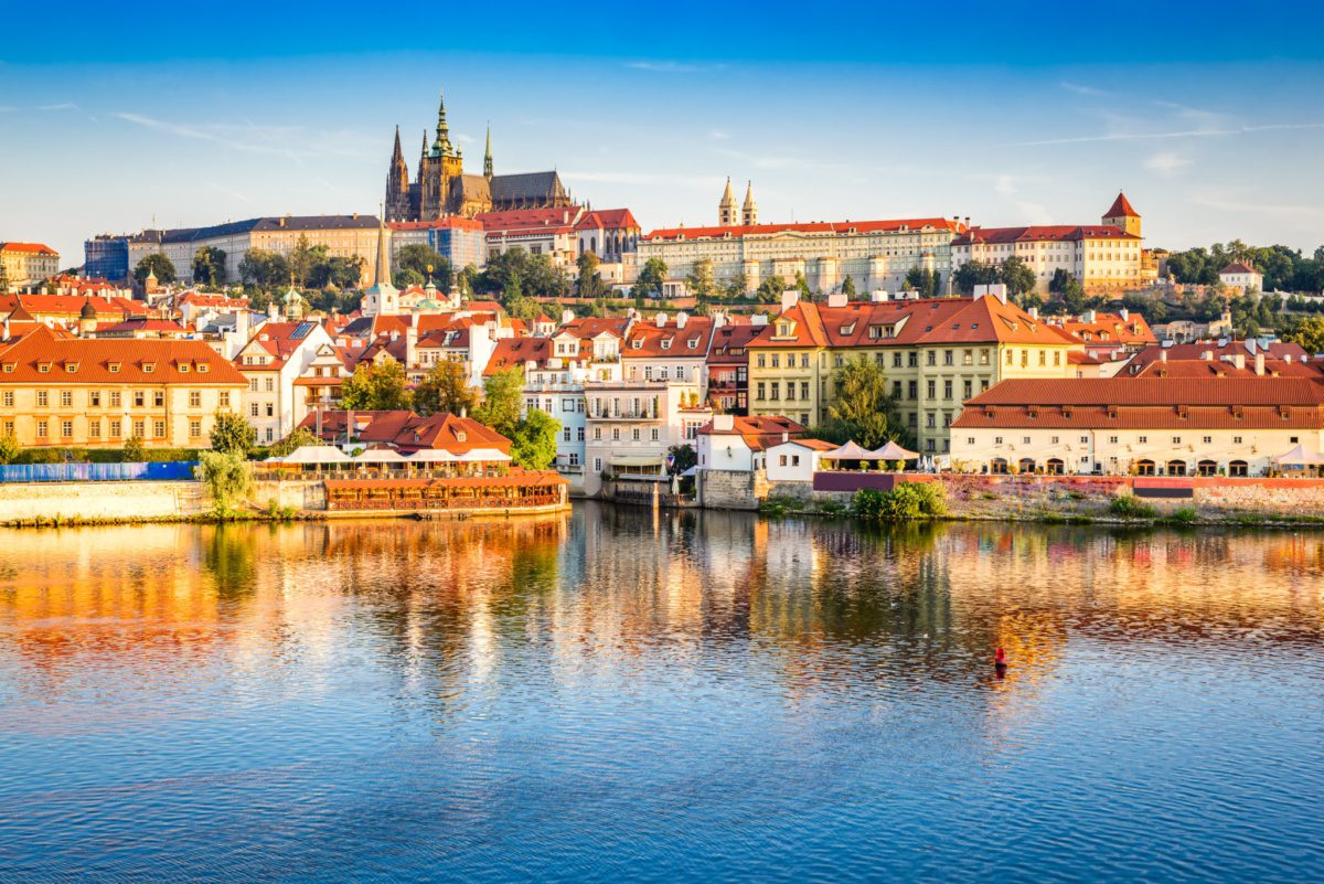 Csehországba
